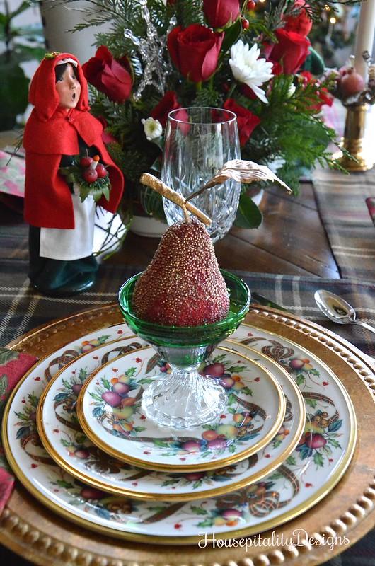 Lenox Holiday Tartan-Christmas Tablescape-Housepitality Designs