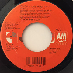 CE CE PENISTON:WE GOT LOVE THANG(LABEL SIDE-A)