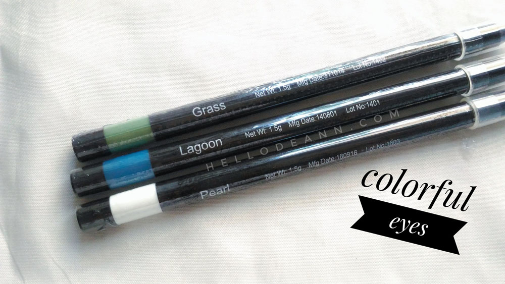 Fashion 21 Twist Eye Pencil Review Colorful Eyes - Hello Deann