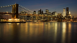 Brooklyn Bridge with Manhattan Skyline | by ketscha