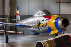 MM51-11049 51-29 - 2142-502B - Italian Air Force - Republic F-84G Thunderjet - Italian Air Force Museum Vigna di Valle, Italy - 160614 - Steven Gray - IMG_0802_HDR