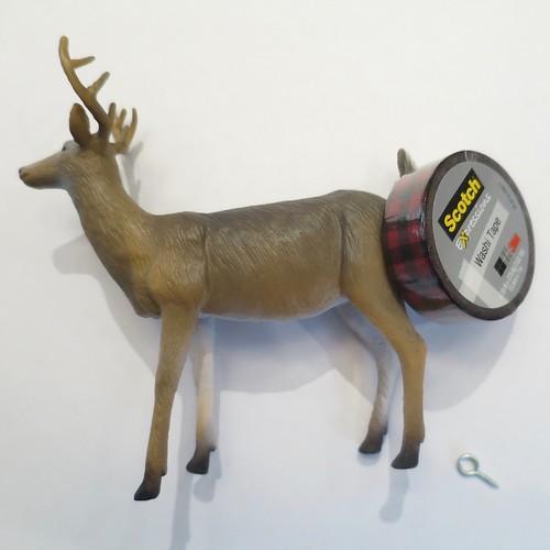 Iron Craft '16 Challenge 23 - Washi Tape Deer