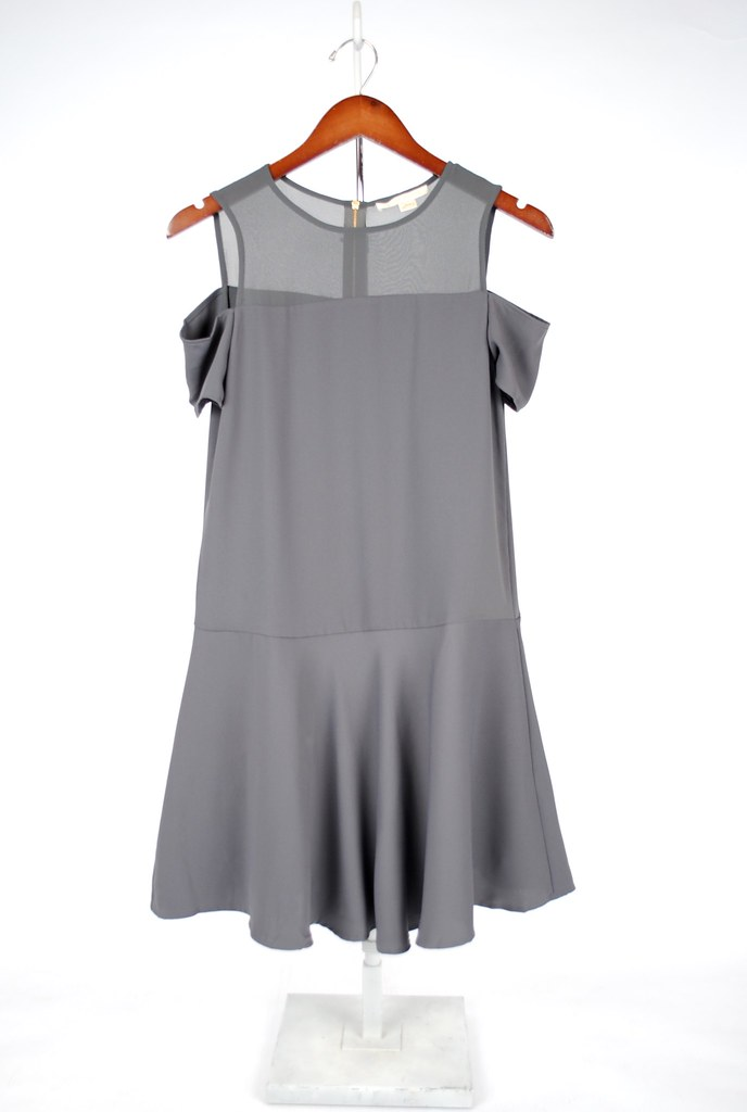 Emilia Cold Shoulder Dress