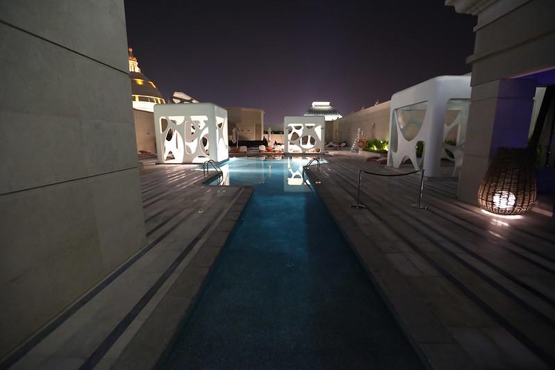 W Dubai Al Habtoor City pool wet deck