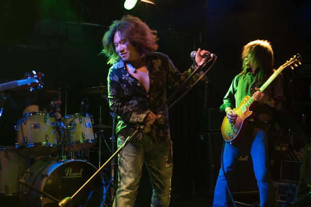 Molten Gold live at Club Mission's, Tokyo, 15 Oct 2016 -00068