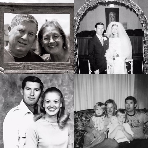 Happy 45th wedding anniversary to my parents today! 