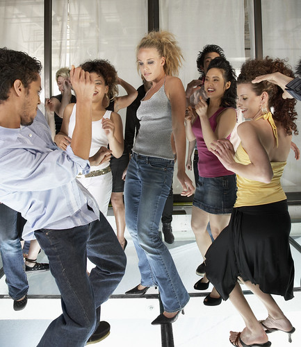 People Dancing at a Discotheque | by www.audio-luci-store.it