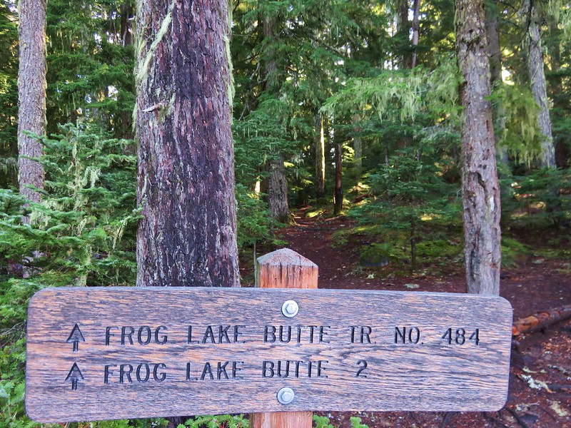 Frog Lake Butte Trail