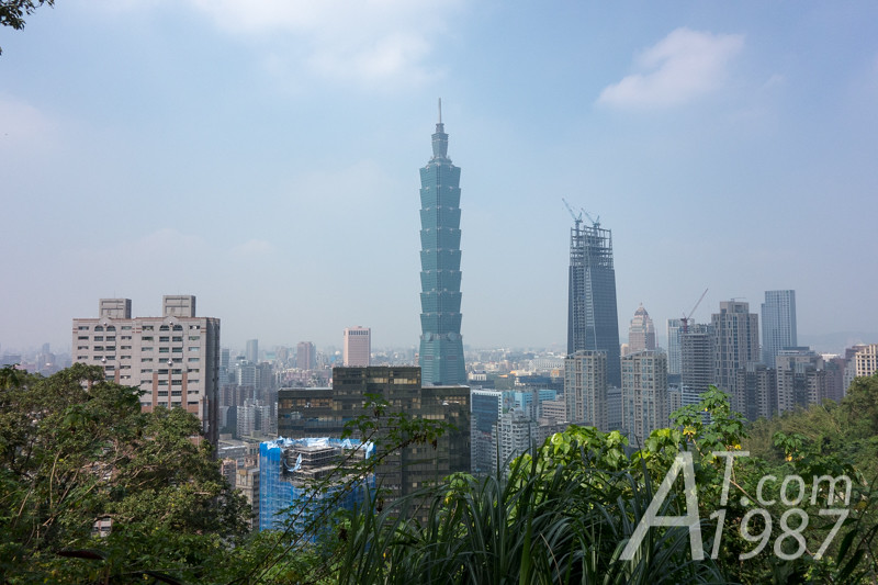 Taipei 101 from Zhongshan