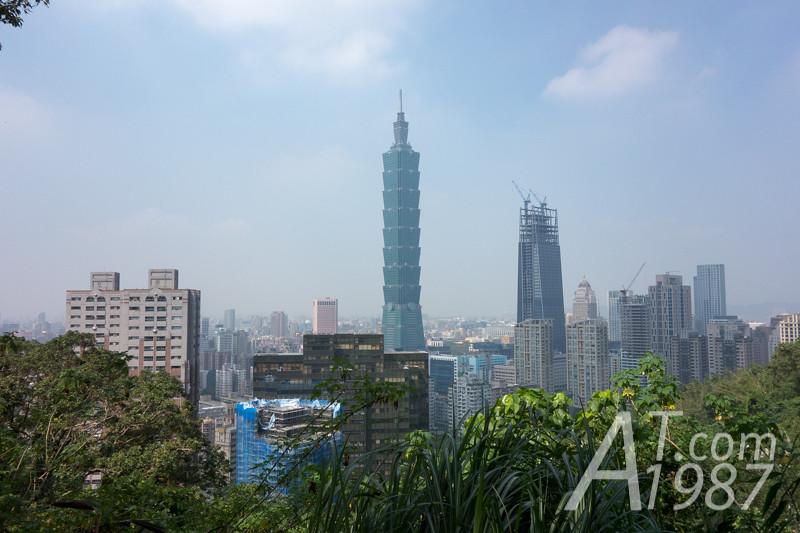Taipei 101 from Zhongshan