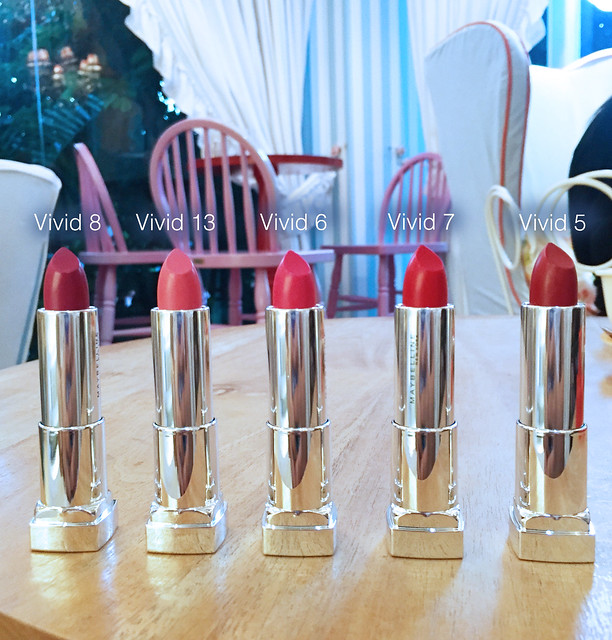 Patty Villegas - The Lifestyle Wanderer - Maybelline - Color Sensational - Vivid Matte Lipstick -3