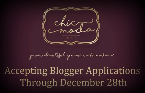 ChicModa Blogger Applications