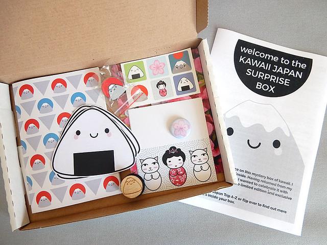 Surprise Box contents
