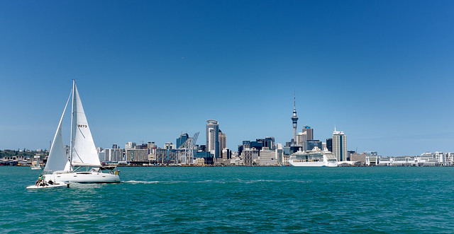 Auckland, Sailing By