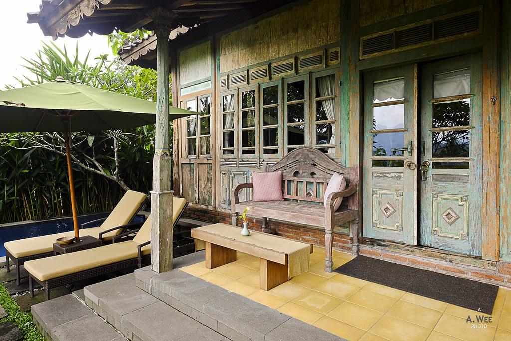Villa porch