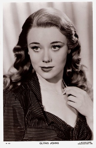 Glynis Johns European Film Star Pos...