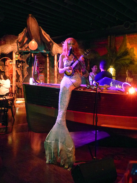 Mermaid serenade at Pacific Seas