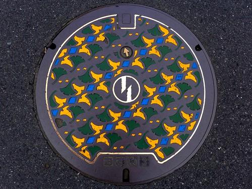 Inagi Tokyo, manhole cover (東京都稲城市のマンホール)