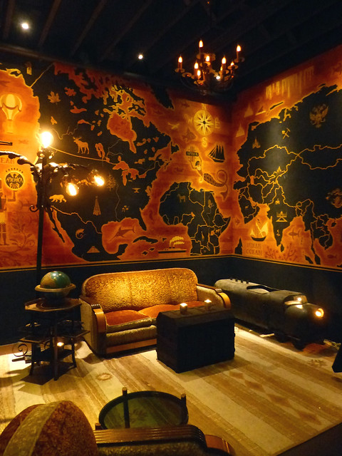 The Map Room at Pacific Seas