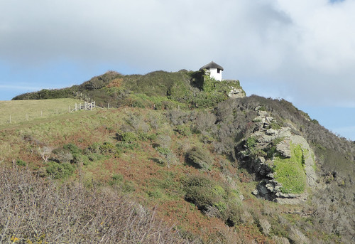 Coastguard lookout Gara Rock