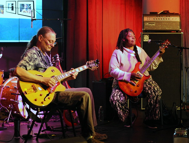 The Fab Foehners at the National Blues Museum's Howlin' Friday series, November 4, 2016