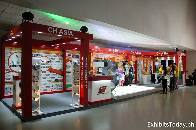 CH Asia Exhibit Booth