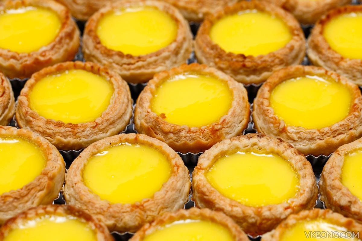 Hong Kee Confectionery Egg Tarts