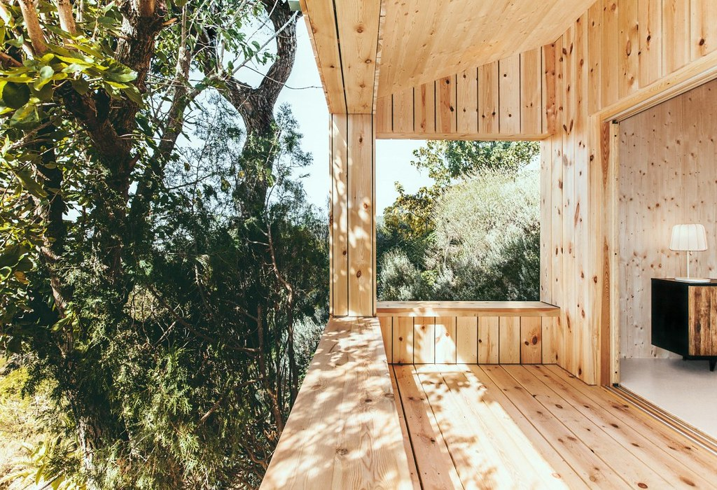 Wood studio house by Dom Arquitectura in Barcelona Sundeno_08