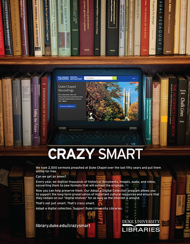 Crazy Smart Adopt a Digital Collection