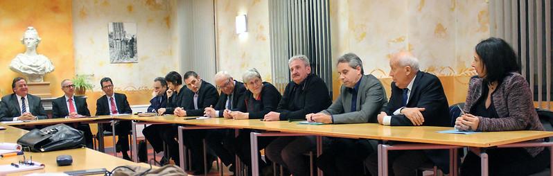 2016 M. le Préfet à la rencontre des élus 17 nov