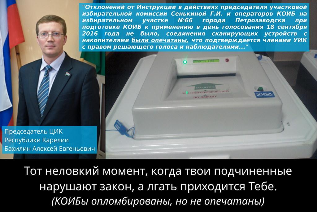 Бахилин Алексей Евгеньевич, председател ЦИК Республики Карелии