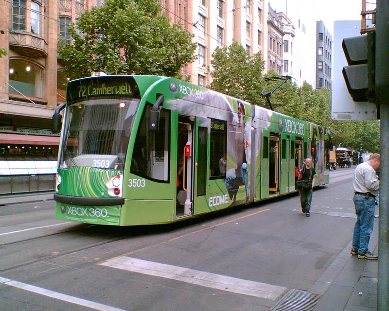 Swanston Street, Melbourne, November 2006