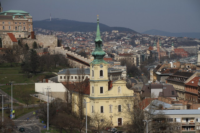 View over Pest