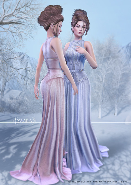{Zaara} Devika gowns for C88 Dec