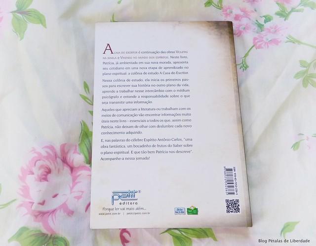 Resenha, livro, A-casa-do-escritor, Vera-Lúcia-Marinzeck-de-Carvalho, espírito-Patrícia, petit-editora, livro-espirita, trechos, foto, capa, opiniao, critica,sinopse