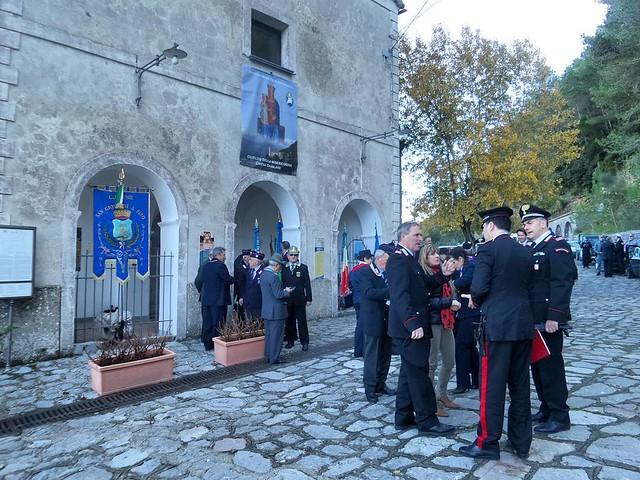 I #carabinieri del #golfodipolicastro #compagnia di #sapri festeggiano a #sangiovanniapiro la #virgofidelis #protettrice dell' #arma #santuariodipietrasanta #sgap