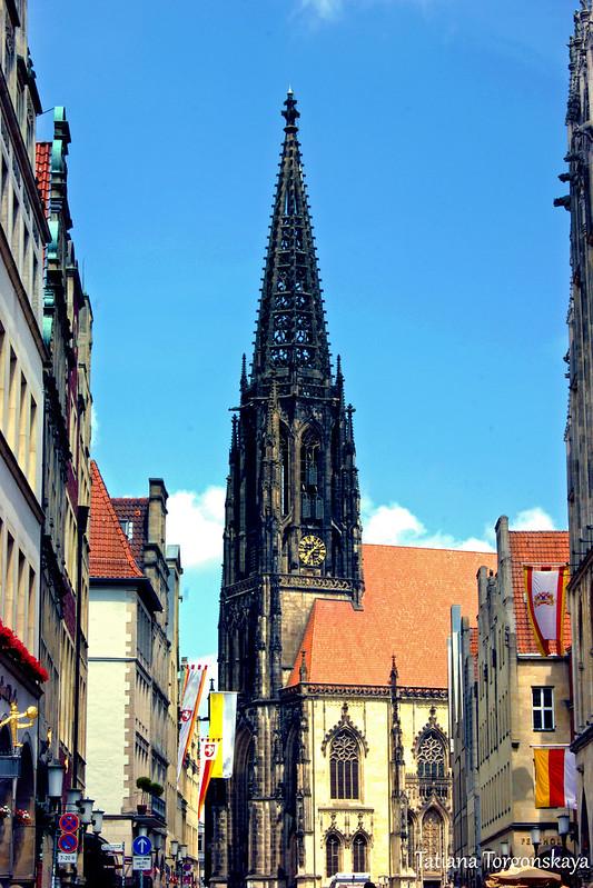 Церковь Святого Ламберта и Принципальмаркт