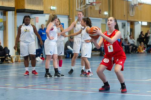 Basket div2 damer Spånga vs. Katrineholm, 2016-10-15
