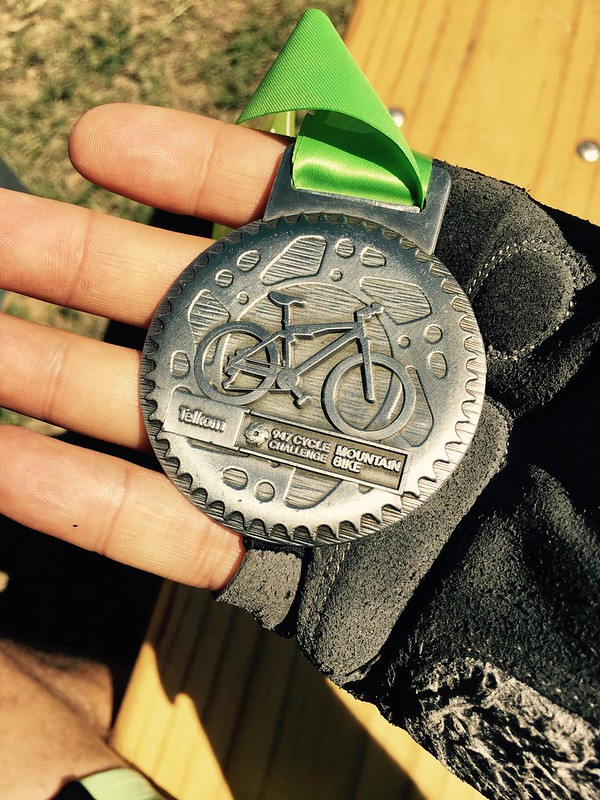 Telkom Mountain Bike Challenge 2016 - Another easy medal
