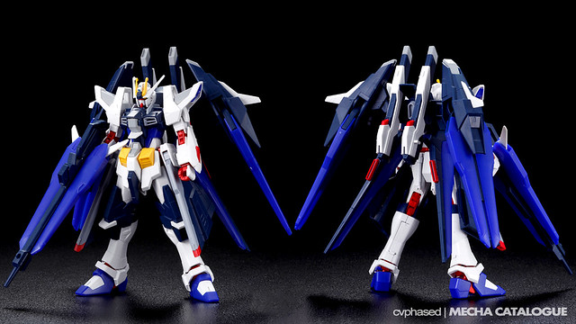 HGBF Amazing Strike Freedom Gundam - Colored Prototype Shots