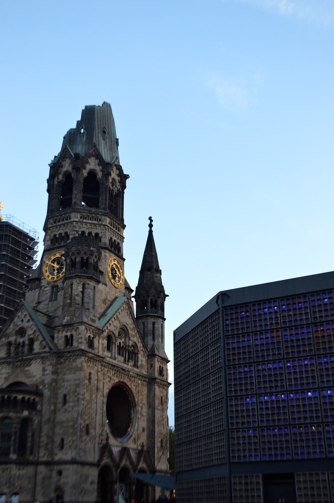 this is a picture of the kaiser wilhelm memorial church in berlin