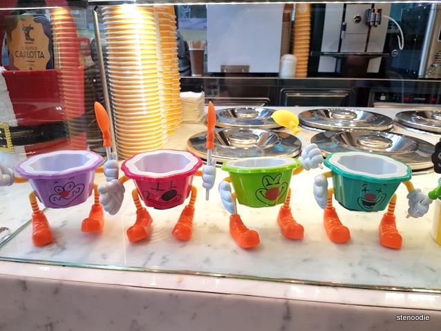 Il Gelato di Carlotta kids gelato cups