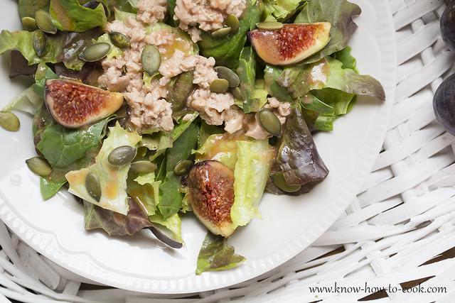 leafy-green-salad-cod-liver-figs