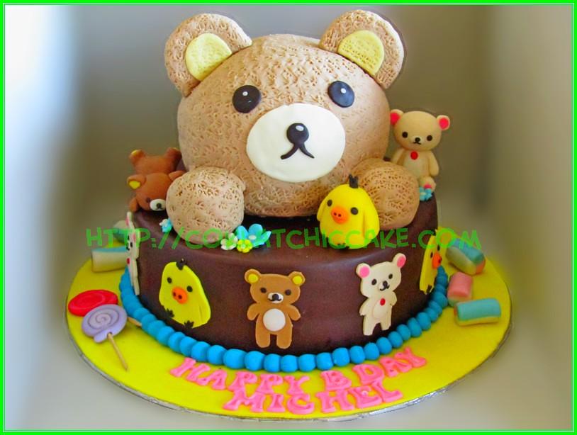 Cake Rilakuma
