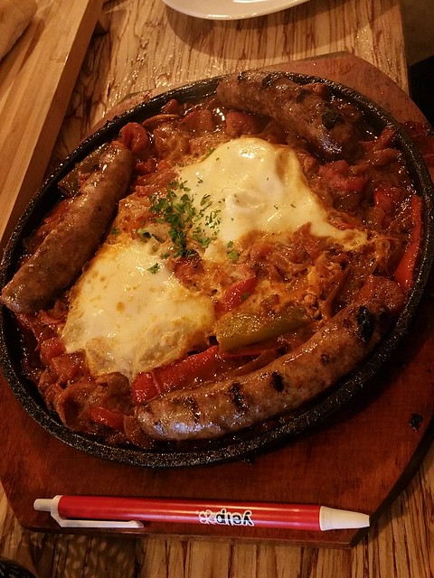 2016-Oct-21 Salchicha Meat Bar - Shakshouka Maraguez