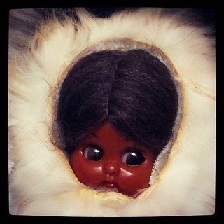 Чукчо, #Carlson doll, vintage, from 60s probably, part of #collection. Quick shot for #365days project, 310/365