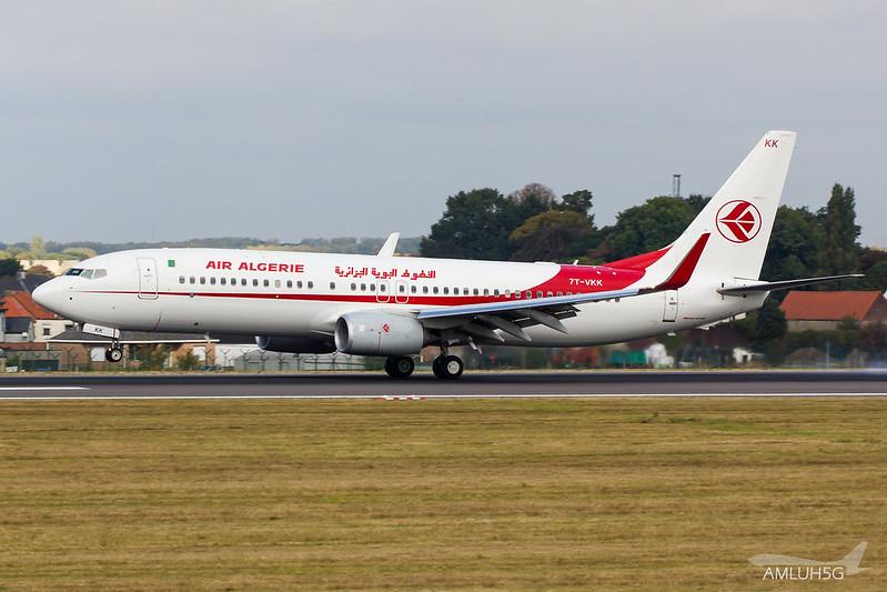 Air Algerie - B738 - 7T-VKK (1)