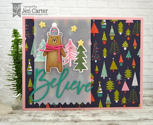 Jen Carter Rustic Bear Believe wm