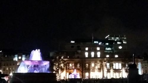 Trafalgar Square evening 1