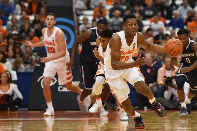 SU Basketball: Syracuse vs Monmouth